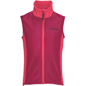 VAUDE Racoon Fleece Vest Kids bright pink